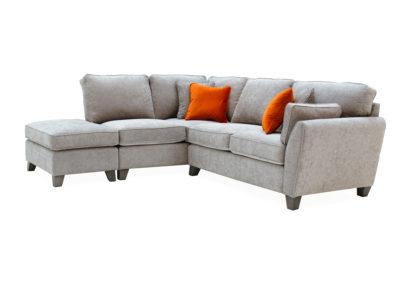 corner sofa silver