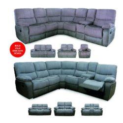 shanghai modular recliner sofa