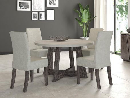 Austin Round Dining Table 1 3m Brennan S Furniture Carpets